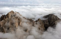 Above the clouds Royalty Free Stock Photo
