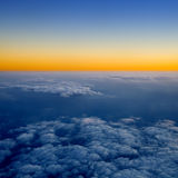 Above the clouds. Royalty Free Stock Photography