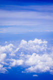 Above of clouds Stock Photography