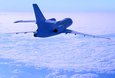 Above the clouds. Stock Photos