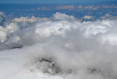 Above clouds Royalty Free Stock Photography