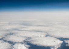 Above the clouds Royalty Free Stock Photography