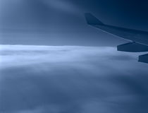 Above clouds. Royalty Free Stock Photography