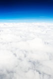 Above the clouds Royalty Free Stock Photos