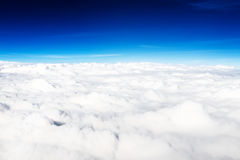Above the clouds. Beautiful sky Royalty Free Stock Photo