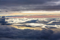 Above clouds Stock Image