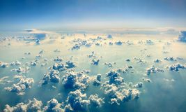 Above the clouds. Royalty Free Stock Photo