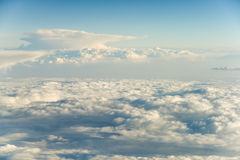Above The Clouds Blue Sky Royalty Free Stock Photography
