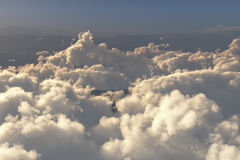 Above the clouds. Computer generated image Stock Photography