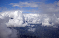Above the clouds, Darjeeling, West Bengal, India Royalty Free Stock Photos