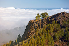 Above the clouds - Gran Canary Royalty Free Stock Photography