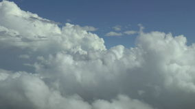 Above the clouds, HD aerial footage. Stock Photo