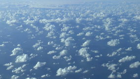 Above the clouds, HD aerial footage. Stock Photos