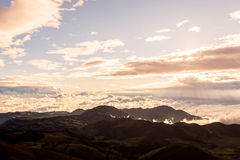 Above The Clouds, National Park Sangay, South America Royalty Free Stock Photography