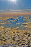 Above the clouds,Okinawa Stock Images