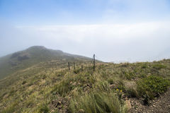 Above the clouds on Sentinel Hike, Drakensberge, South Africa Stock Photography