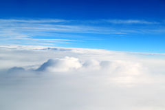 Above Clouds Skyscape Stock Photos