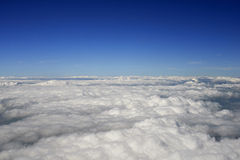Above The Clouds. To be used as a background Royalty Free Stock Photos