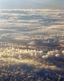 Above clouds. Stock Photos