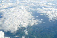 Above the clouds Stock Image