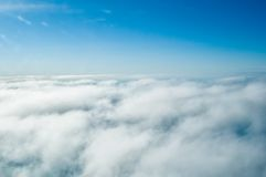 Above clouds Stock Photography