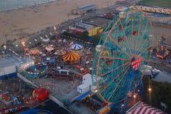 Above Coney Island royalty free stock photo
