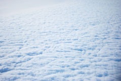 Above fluffy clouds Stock Photo