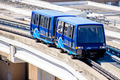 Above ground terminal connecting tram at IAH airport Stock Images