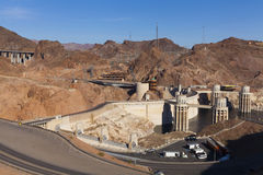 Above Hoover dam in Boulder City, NV on May 13, 2013 Stock Images