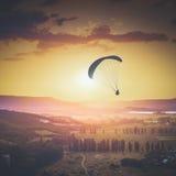 Above Kachinskaya valley. Instagram stylisation Royalty Free Stock Photo