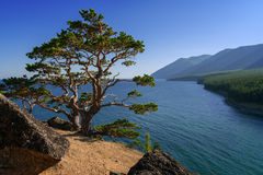 Above Lake Baikal Stock Image