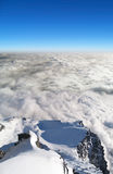 Above Lomnicke sedlo, High Tatras, Slovakia royalty free stock photo