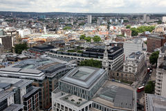 Above London with St Paul's Cathedral, UK Stock Photo