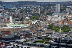 Above London with St Paul's Cathedral, UK Royalty Free Stock Photo