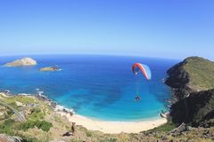 Above makapuu beach Royalty Free Stock Photography