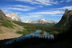 Above Mary Lake Stock Photo