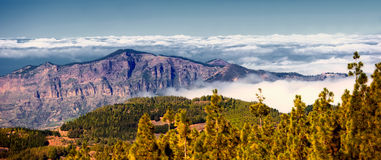 Above the mountains - Gran Canary Royalty Free Stock Photography