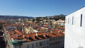 Above the Roofs. A beautifull view of Nice & x28;France& x29 stock photography