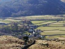 Above Rosthwaite, Lake District, England Royalty Free Stock Photos