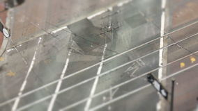 Above San Francisco Intersection - Tilt Shift. Above City Traffic,  San Francisco stock footage