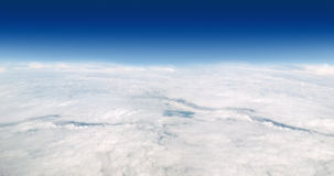 Above the sky - Panorama Stock Images