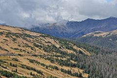 Above Treeline at Rocky Mountain National Park Stock Photos