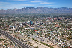 Above Tucson Royalty Free Stock Images