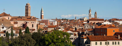 Above Venice Stock Photography