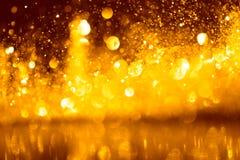 Abrégé sur éclatant de scintillement lumières Images libres de droits