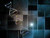 Abrégé sur ADN illustration libre de droits