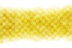Abrégé sur aquarelle de modèle ou fond à carreaux jaune japonais de peinture de vintage Image libre de droits