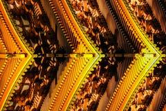 Abrégé sur architecture avec les détails japonais traditionnels de pagoda photographie stock