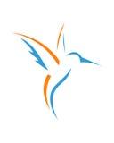 Abrégé sur assurance commerciale de l'abrégé sur 2 colibri Image libre de droits