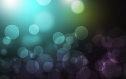 Abrégé sur bleu-clair fond de Bokeh images stock